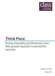 Rising inequality and financial crises