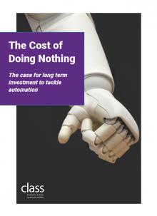The Cost of Doing Nothing: The Case for Long Term Investment to Tackle Automation