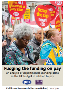 Fudging the funding on pay