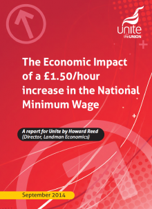 The Economic Impact of a £1.50/hour increase in the National Minimum Wage