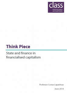 State and finance in financialised capitalism