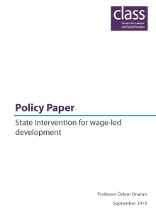 State intervention for wage-led development