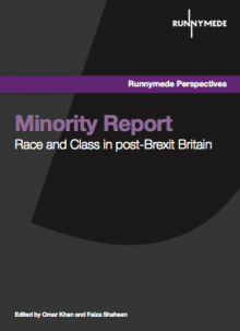 Minority Report: Race and Class in post-Brexit Britain