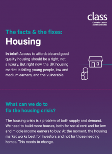 The Facts & the Fixes: Housing