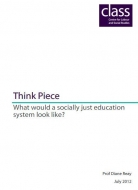 What would a socially just education system look like?