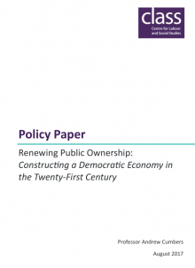 Renewing Public Ownership: Constructing a Democratic Economy in the Twenty-First Century