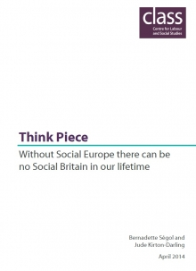 Without Social Europe there can be no Social Britain in our lifetime