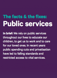 The Facts & the Fixes: Public Services