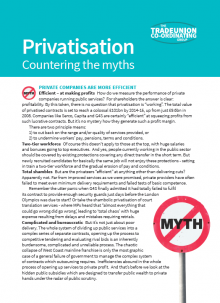 Privatisation - Countering the Myths