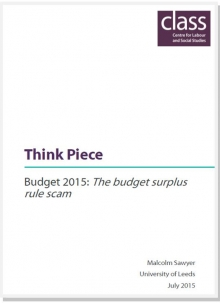 The 'budget surplus' rule scam