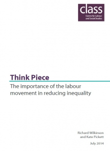 The importance of the labour movement in tackling inequality