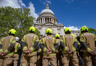 Fire Brigades Union Demands Action From Government