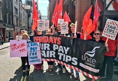 Demands For Fair Tips At TGI Fridays