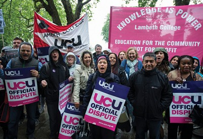 College Teachers Fight For Fairer Pay