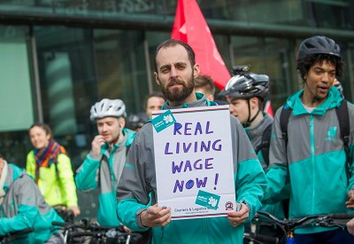 Pressure Growing On Deliveroo To Guarantee Worker Rights