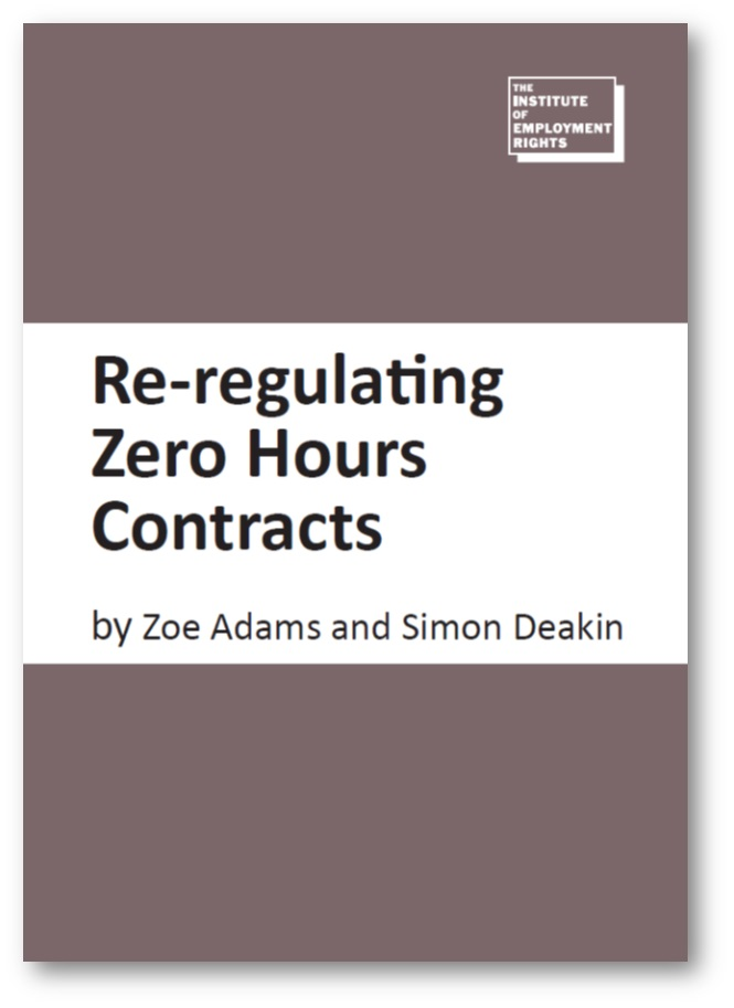 Re-regulating zero hours contracts