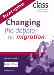 Changing The Debate on Migration: Brexit Update