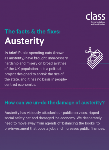 The Facts & the Fixes: Austerity